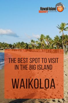 Waikoloa: Why it's the best spot to visit in the Big Island - Honeymoon Vacations, Hawaii Honeymoon, Hawaii Vacation, Hawaii Travel, Hawaii 2017, Kona Hawaii, Vacation Destinations, Vacation Ideas, Vacation Spots