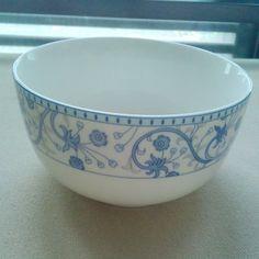 4.5 bowl rice bowl bone china bowl ceramic tableware blue and white porcelain $25.00