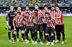 Equipos de fútbol: ATHLETIC CLUB DE BILBAO contra Villarreal 07/04/2017
