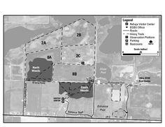 Ottawa National Wildlife refugee Map