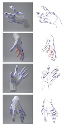 Hands Reference Drawing, Drawing Hands, Hand Reference, Art Reference Poses, Drawing Lessons, Drawing Techniques, Drawing Tips, Drawing Poses, Sketching Tips