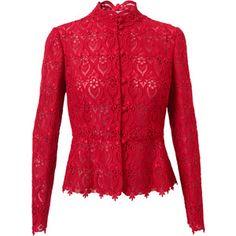 VALENTINO Macramé Lace Jacket #EasyNip