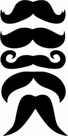 Print and cut out!  My nephew is obsessed with staches.  :)  Gonna make these for the next time he comes to visit.