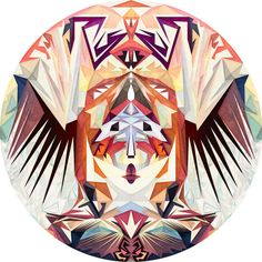 Anai Greog's Circular Motions –more images @ http://www.juxtapoz.com/Illustration/anai-greogs-circular-motions –#illustration