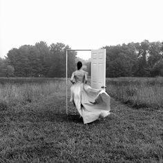 by Rodney Smith - All I want to know is how to get the door to stand up in the frame like that, its way more difficult than you think