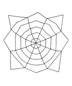 Oversized Halloween Spider Web