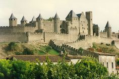 Carcassone,France........walled Medievel City in the south of France