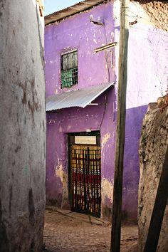 harar, ethiopia by line x shape x colour