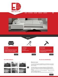 Ed. Móveis- Site da empresa em desenvolvimento.