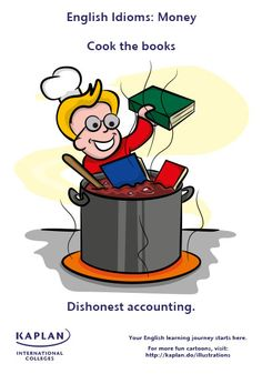 English Idioms: Cook the Books