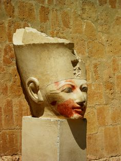 At the Temple of Queen Hatshepsut, Egypt