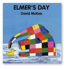 Elmer's Day Board Book
