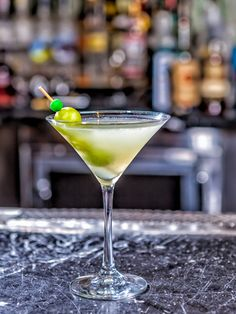 Uva Bianco  2 oz. Bacardi Artic Grape  1 oz. St. Germain Elderflower Liqueur  ½ oz. lemon juice  7 green grapes  Splash of club soda  Garnish: three grapes   Muddle grapes in a cocktail shaker. Add remaining ingredients and shake. Strain into a martini glass. Garnish with three grapes.