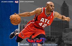 Jerry Stackhouse Atlanta Hawks, Sports, Hs Sports, Sport