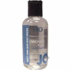 System jo h2o women's lubricant - 4 oz by System Jo International. $13.23. Lubricants. Women's. System Jo Women's H2O Lubricant has all the benefits of the Original System JO Personal Lubricant, similar in feel and viscosity, yet contains no oil, wax, or Silicone. JO H2O is 100% latex safe and manufactured under strict U.S. FDA guidelines. System Jo Women's H2O Lubricant has a silky, smooth feeling, never sticky or tacky. It is long lasting, fragrance free, and washe...