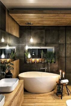 Home Design and Decor - Inspirational Interior Design Ideas for Living Room Design, Bedroom Design, Kitchen Design and the Entire home Home Design, Design Loft, Design Ideas, Design Case, Modern Design, Dream Bathrooms, Beautiful Bathrooms, Modern Bathroom, Wc Bathroom