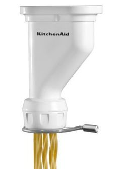 KitchenAid White Gourmet Pasta Press Stand Mixer Attachment