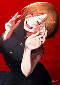 Anime Gifs, Anime Henti, Manga Anime Girl, Kawaii Anime Girl, Anime Demon, Otaku Anime, Cute Anime Character, Character Art, Rikka And Yuuta