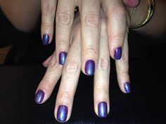 Mood ring with CND Shellac and Additives #cndshellac#cndworld#cnd#cndadditives#moodring