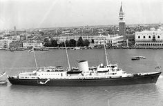 During its 43-year service she travelled more than one million nautical miles around the globe