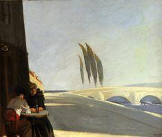 Edward Hopper Me encanta este artista!!!!