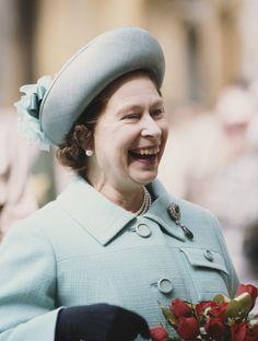 Tailor Elizabeth II blue sky