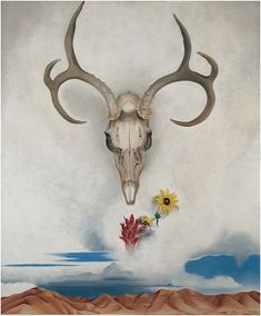 Georgia O'Keeffe, Summer Days, 1936. Oil on canvas, 36 × 30 in. (91.4 × 76.2 cm). Whitney Museum of American Art, New York; gift of Calvin Klein  94.171