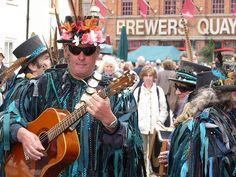 The Lodestone Border Morris Dance Group, Weymouth, Dorset