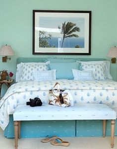 Beach Themed Bedrooms | Palm Tree Decor: Palm Tree Photograph By Priscilla  Rattazzi