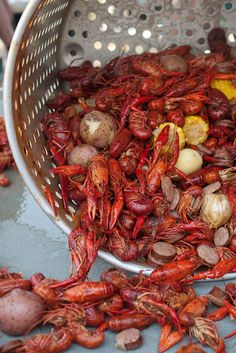 Crawfish... Really craving these bad boys! Wish I could find live ones up here