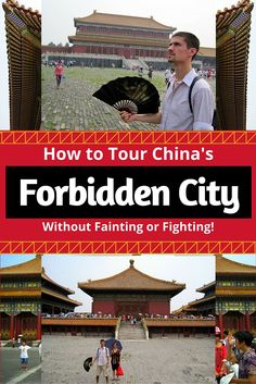 Planning travel to Beijing, China and want to visit the famous Forbidden City? Read these tips on how to avoid fainting or fighting in this giant tourist attraction!