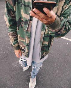 Follow @streetwearde for daily fashion posts. #BestOfStreetwear Outfit by @amorin4122 ✅ Jacket - Killion Tee - Killion Jeans - Mintcrew Shoes - Yeezy Boost 350 _________________________________ Our Fashion Family: @hypedhaven @kostyaapetrov ___________