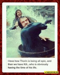 Thorin, it's a ride and you're supposed to have fun!