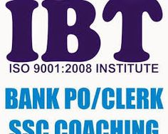 IBT institute Bank Po, Clerk, MAT, CAT, SSC, Government exam give coaching in all India.