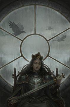 Anna desistindo do trono