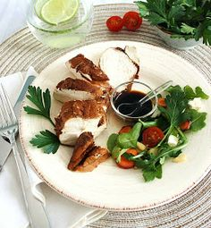 Inspired Edibles: Balsamic Poached Chicken