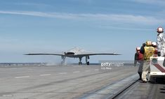 In this handout released by the U.S. Navy, An X-47B Unmanned Combat Air System (UCAS) demonstrator launches from the flight deck of the aircraft carrier USS George H.W. Bush (CVN 77) May 14, 2013 in the Atlantic Ocean. George H.W. Bush is the first aircraft carrier to sucessfully catapult-launch an unmanned aircraft from its flight deck. The Navy plans to have unmanned aircraft on each of its carriers to be used for surveillance and be armed and used in combat roles.