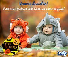 Doces ou travessuras? Aqui na Lolly é muita fofura! Feliz Dia das Bruxas! #Lolly #Halloween #DiaDasBruxas