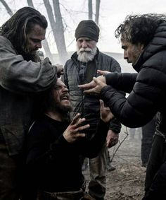 """""""If I'm the naughty boy for doing that, then I'd rather be the naughty boy and release that tension."""" - Tom Hardy on wrestling withAlejandro G. Iñárrituon the set of The Revenant.See more details and new images."""