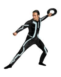 Tron Legacy   Deluxe Adult Male Costume Description: A Witty Warrior Of The  Grid. Emulate The Witty And Heroic Sam Flynn In The Tron Legacy   Deluxe  Adult ...