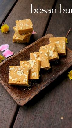 besan burfi recipe, besan ki barfi recipe, besan barfi with step by step photo/video. traditional indian sweet recipes prepared with chickpea flour & sugar. Jamun Recipe, Burfi Recipe, Chaat Recipe, Recipe Recipe, Fudge Recipes, Sweets Recipes, Snack Recipes, Cooking Recipes, Diwali Recipes