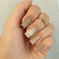 Mais de 90 Ideias para a sua Unha Decorada do Ano Novo! Elegant Nails, Stylish Nails, Cute Nails, Pretty Nails, Nagel Stamping, Gel Nails, Nail Polish, Diy Nail Designs, Square Nails