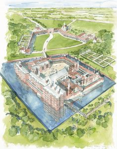 The history of Eltham Palace, a unique marriage between a medieval and Tudor palace and a millionaire's mansion. Eltham Palace, A4 Poster, Poster Prints, English Heritage, English Manor, Medieval Castle, Medieval Life, Framed Prints, Canvas Prints