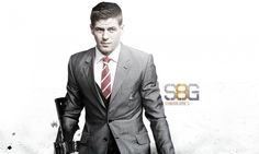 A selection of fan art produced by designer Liverpool Football Club, Liverpool Fc, Stevie G, New James Bond, You'll Never Walk Alone, Suit Jacket, Fan Art, Blazer, Jackets