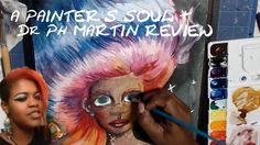 DR PH MARTIN WATERCOLOR REVIEW + A PAINTER'S SOUL WATERCOLOR ILLUSTRATIO...