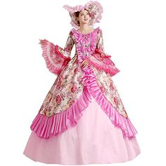 Partiss Damen Gothic Victorian Lolita Cosplay Kostueme Ma... https://www.amazon.de/dp/B01HROOW5K/ref=cm_sw_r_pi_dp_mlGDxbHQJK6W6