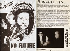 Sniffin Glue, the first punk fanzine, was produced by Mark Perry in July 1976 a few days after seeing US punk band The Ramones for the first time at the Roundhouse in London. He took the title from a Ramones song 'Now I Wanna Sniff Some Glue'. Perry's fanzine was the perfect punk form. It reported the moment immediately as it happened, from an insider's point of view. Because Perry used everyday tools that were immediately to hand, Sniffin' Glue fitted with the do-it-yourself ethos which was…
