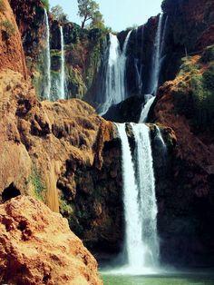 Ouzoud, waterfall; Morroco