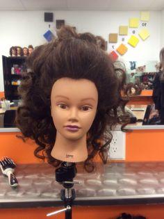 Fran Drescher hair!!#backcombing