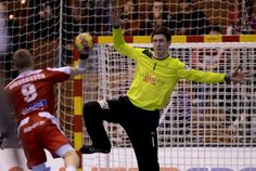 Goalkeeper Niklas Landin - first choise on the Danish national handball team